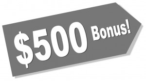 $500 Bonus Art
